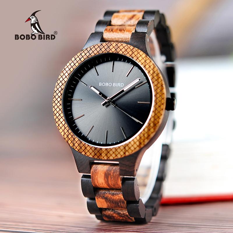 China supplier BOBO BIRD current trendy men Japan quartz movement wooden wrist watch, Picture