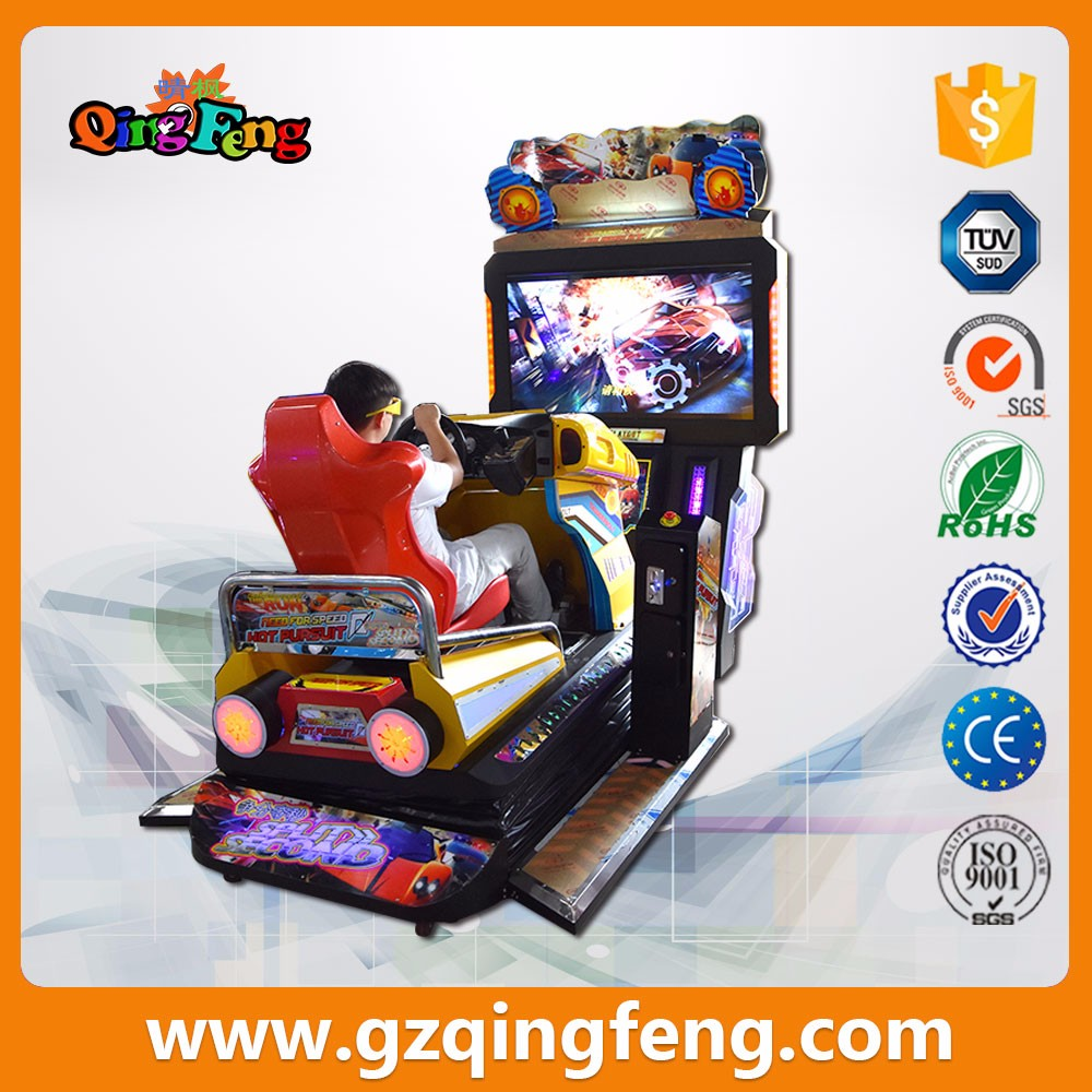 newest adult simulator racing car games 3D outrun car racing  game machine
