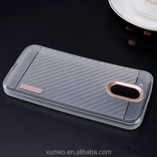Factory price Hot sale Clear carbon fiber case for LG stylo 3 case, For lg stylos 3 mobile phone cover