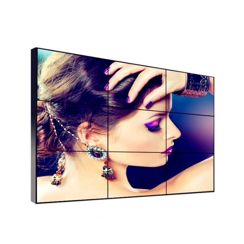 Vertikale 55 ''LCD video wand 3x3 Sumsung/LG panel tv 3,5/1,7/088mm lünette Indoor monitor display lcd displayer