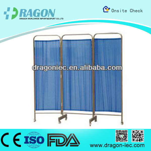 DW - WS002 curtain hospital ward bed screen folding screen