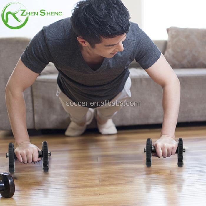 Zhensheng NEW Home Gym Equipment AB Wheel & Push Up Bar Fitness