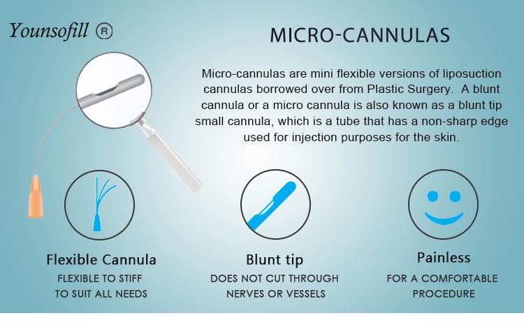 Dermal Filler Injection Cannula Needles Gauge 18 Disposable Needles - Buy  Injection Cannula,Injection Needles,Gauge 18 Disposable Needles Product on