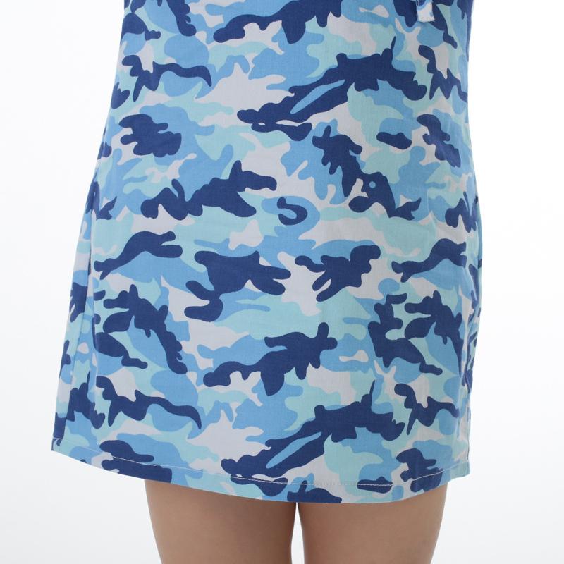 Мода камуфляж мама дочь платья одежда семья взгляд соответствующие наряды девушки и матери осень с длинным рукавом платья одежда