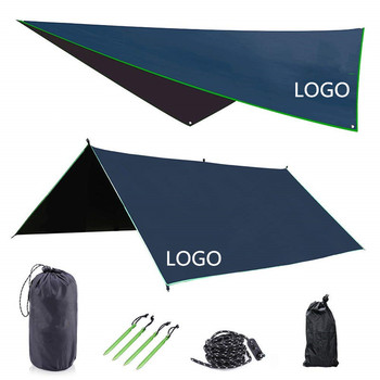 MAGARROW 9.5x9.5ft Waterproof Lightweight Camping Tent Tarp Canopy Shelter Footprint Ground Sheet Beach Mat
