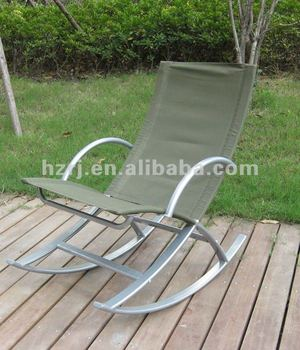Nice Steel Camping Rocking Chair With High Quality
