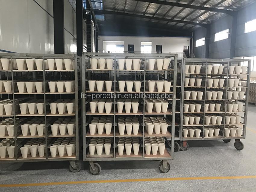 Alto rendimiento de la olla de barro FQ 45g/55g fuego ensayo crisol para la industria minera