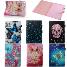Hot Selling Fancy Colorful Pattern Leather Wallet Case for iPad Pro 10.5, Sample Available