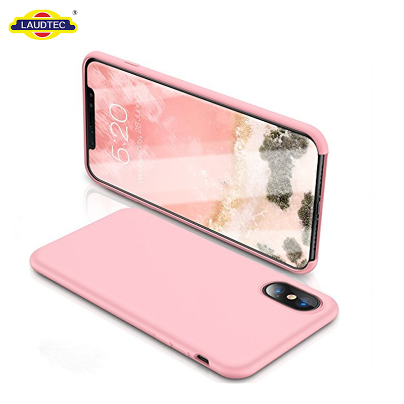 Rubber Cover Case for iphone X Liquid Silicone Case for iphone X