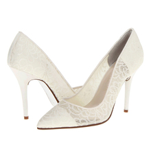 bridal shoes ivory/wholesale fashion shoes/chinese website shoes