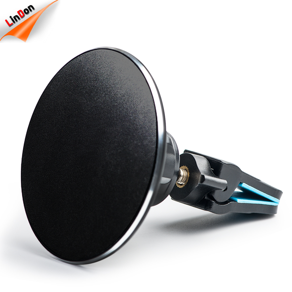 Nano holder 5V 2A fast charging QI magnetic wireless car charger