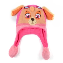 Custom wholesale funny knitted animal beanie baby skull caps