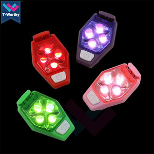 Waterproof Outdoor LED Safety Clip Light LED Blinking Strong Mini Safety Light