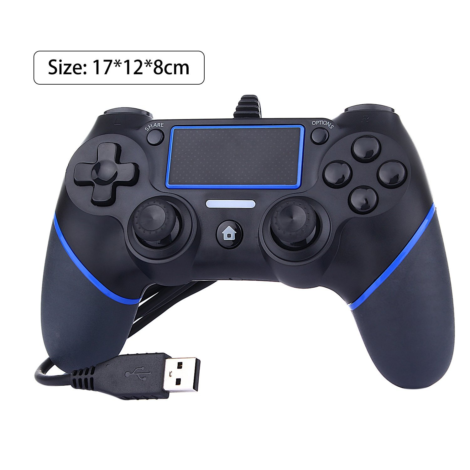 Wired Controller For Ps4 / Ps3/pc - Buy Wired Controller For Ps4 ...