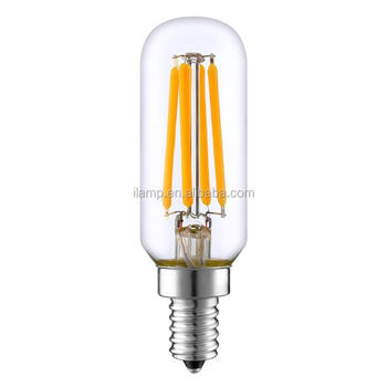 Ul Cul Approved T8 4w Nice Dimmable Led Filament Bulb T25 E12 E14 ...