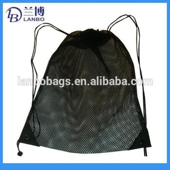 Mesh Gym Sack Drawstring Bag String