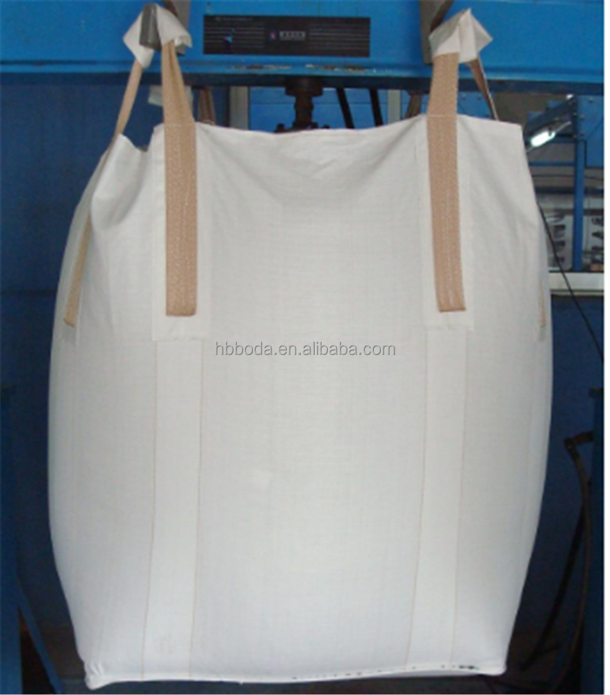 recyclable pp woven big sack FIBC ton bag for rice packing 2000kg