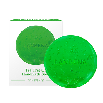 LANBENA  tea tree essential oil handmade soap free shipping