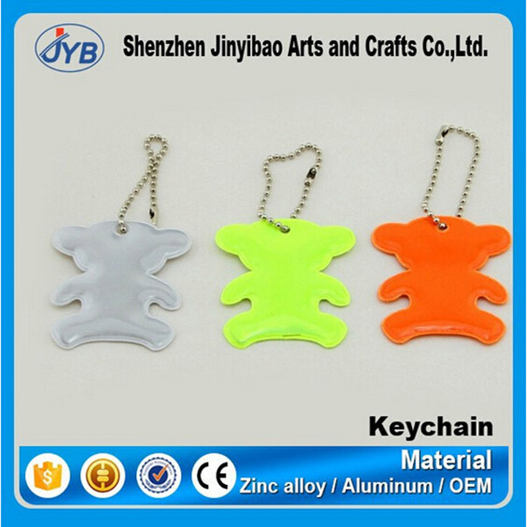 Wholesale Promotion Custom Tritium Keychain in OEM Service Factory