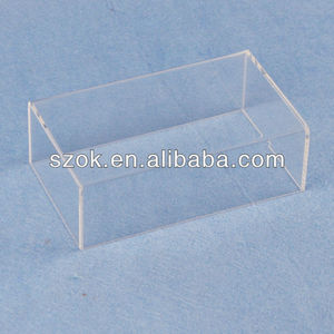 Clear acrylic cover, plexiglass display cover, perspex cover