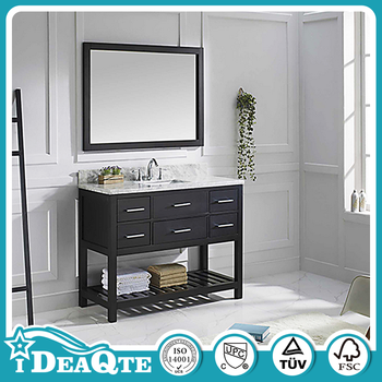 Standard French Provincial Wooden Bathroom Vanity Cabinets