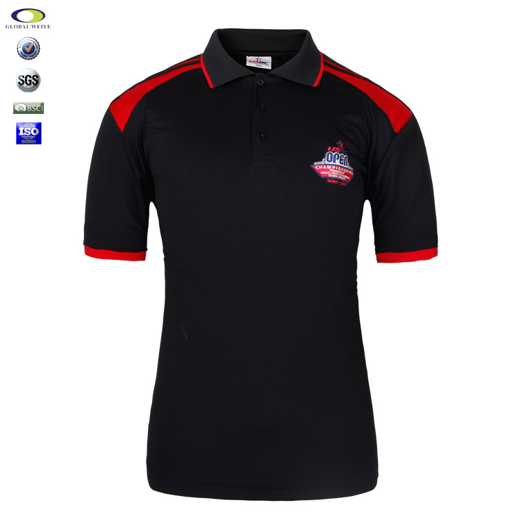 Custom Embroidery Polyester Polo T Shirt Factory