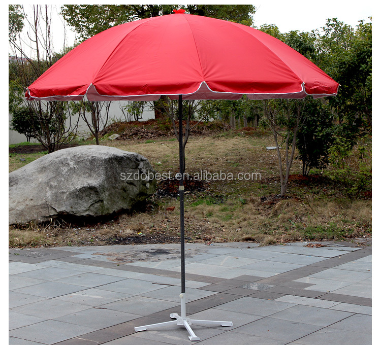 Club promotional portable patio 8 panels small beach umbralla