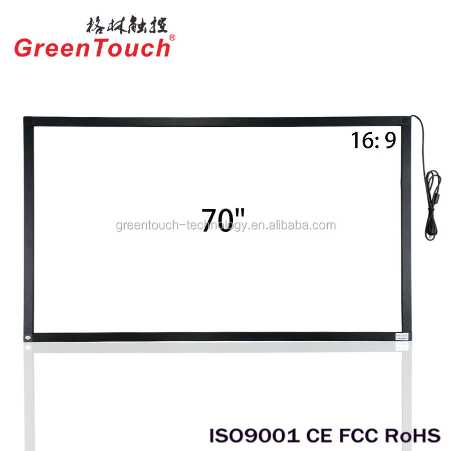 70 inch infrarood multi-touch scherm, ir touch frame voor smart tv, flat touch screen paneel