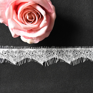 Lace Fabric Stretch Elastic Baolong 1.4 inches Wide Trim Lace for Headbands Garters Variety Pack Mix Colors Grab Bag