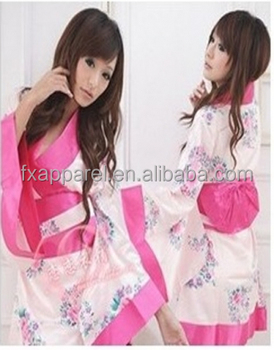 2c6002c7d041a Pink Cheap Japanese Kimono Robe Lingerie Dress - Buy Girls Wearing Sexy  Lingerie,Japanese Kimono Robe,Lovely Japanese Lingerie Product on  Alibaba.com