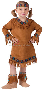 toddler native american halloween costumes for kids sexy school dance girl indian costume large qbc