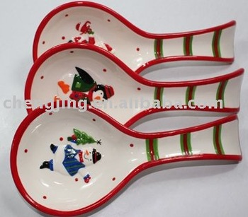 Ceramic Christmas Spoon Rest - Buy Ceramic Chopstick Rest,Soup ...