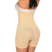 Custom Logo Seamless Slimming Pants High Waist Tummy Control Butt Lifter Shapewear
