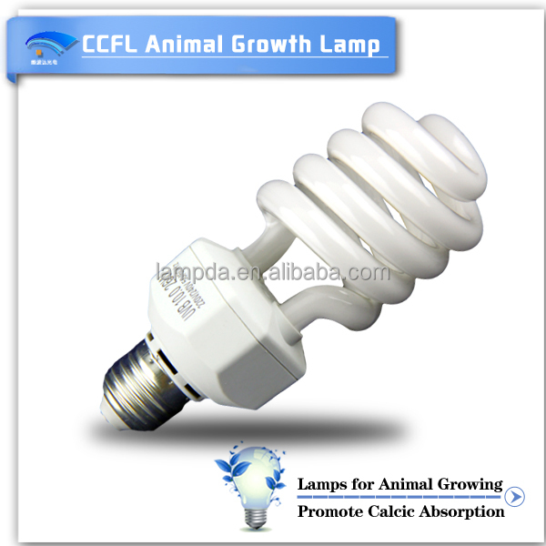 Hot Sell CCFL Panel Grow Lamp UVB Spiral Bulb For Plant Farming