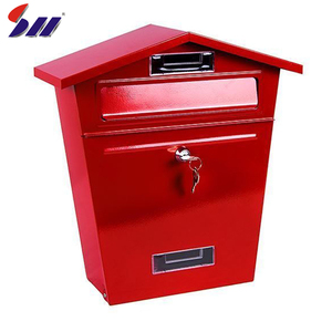 China manufacturer heavy duty steel apartment building commercial antique mailbox