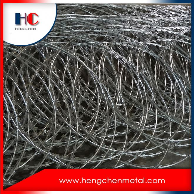 Good Quality China Galvanised Razor Barbed Wire