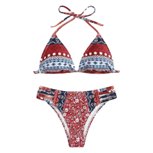 2019 New Arrivals Goedkope Prijs Fabrikant Supply Nationale Stijl <span class=keywords><strong>Featured</strong></span> <span class=keywords><strong>Bikini</strong></span> Eco-vriendelijke Stof Duurzame Badmode