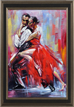 Modern Abstract Woman Dancing Painting