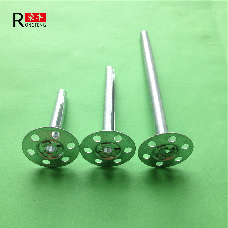 high quality metal insulation nails/ insulation anchor pin made in China