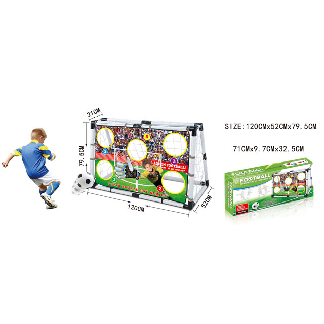 kids football game plastic soccer goal