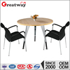 new design round wood top modern coffee table legs