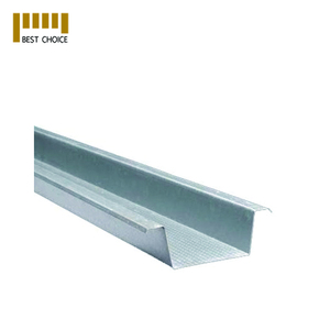 Gypsum metal profile for wall cladding and ceiling framework