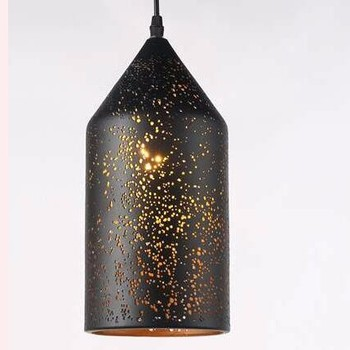 Metal Design Vintage Lighting Etch Antique Cast Iron Pendant Lamps Morocco Light Product