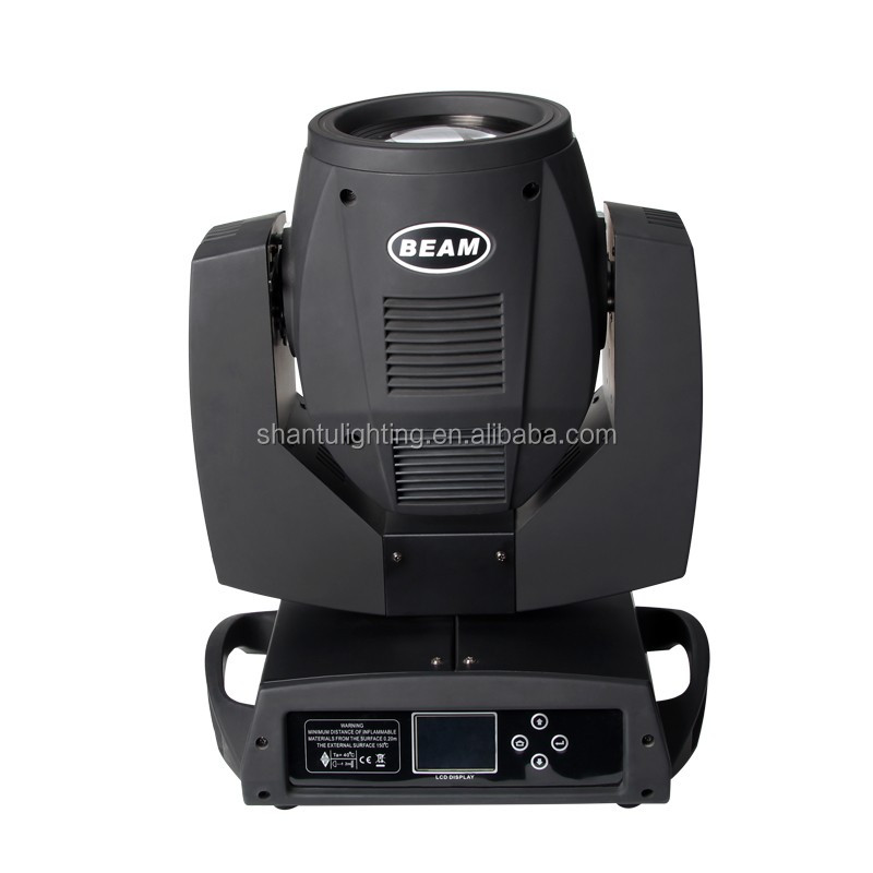 Baisun brand harpy 5r 200w beam moving head lights with dmx512 14colors 16ch moving head light