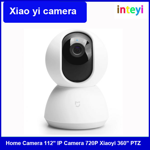 "[Global Edition] Xiaomi YI Dome smart Home Camera, 112"" IP Camera 720P WiFi wireless Security Surveillance Camera for home"