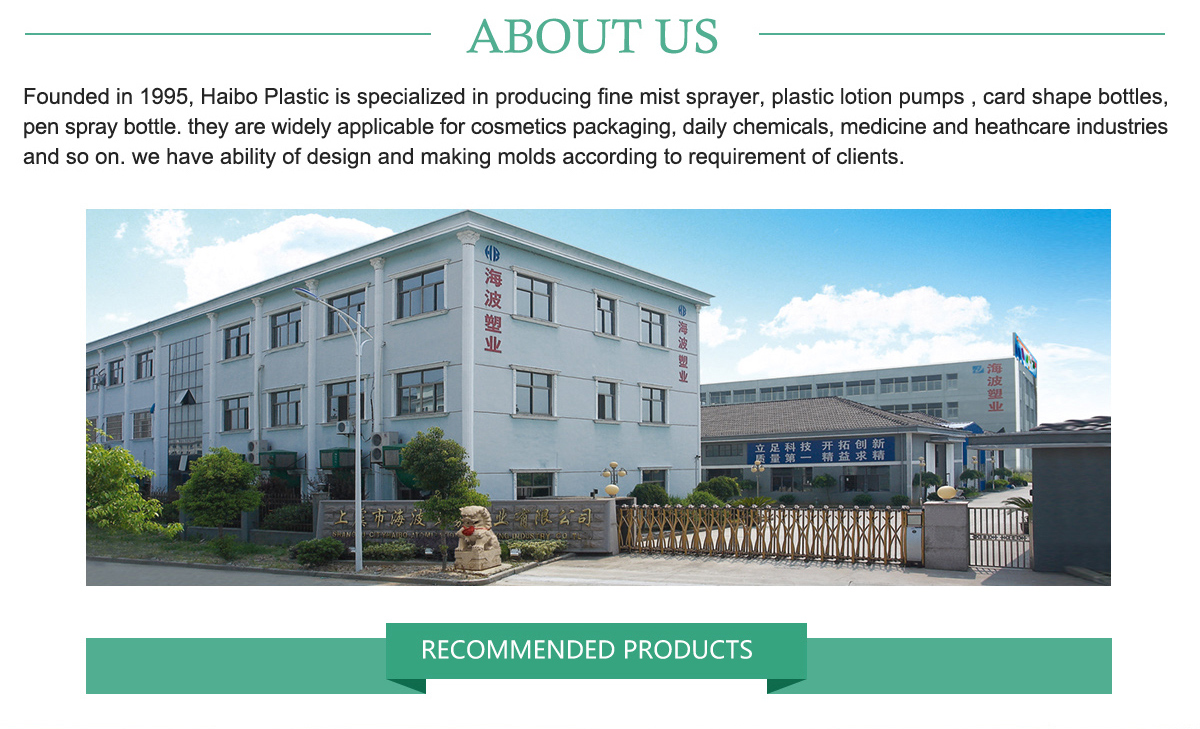 Shaoxing Shangyu Haibo Spray Plastic Co Ltd Card Sprayer Botol Parfum Refillable Atomizer Shape Bottle Series