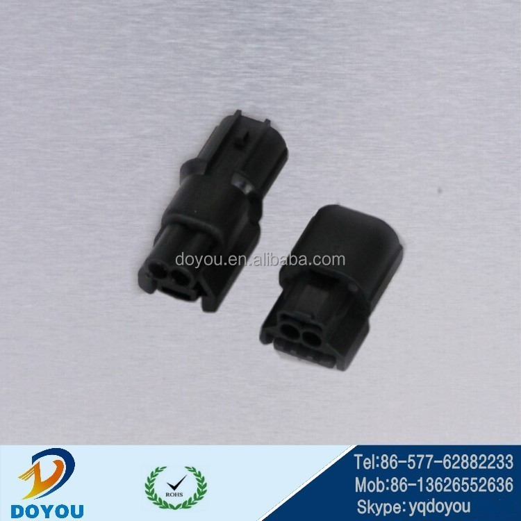 2pin black female stereo audio connector Japan brand