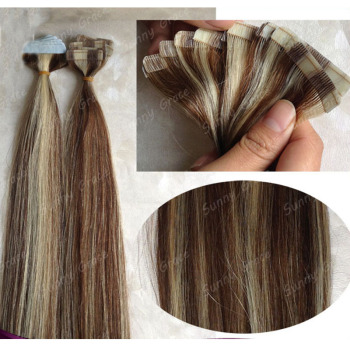 Hot sale tape hair extensions grade 6a high quality pre taped hair hot sale tape hair extensions grade 6a high quality pre taped hair extensions highlight tape hair pmusecretfo Image collections