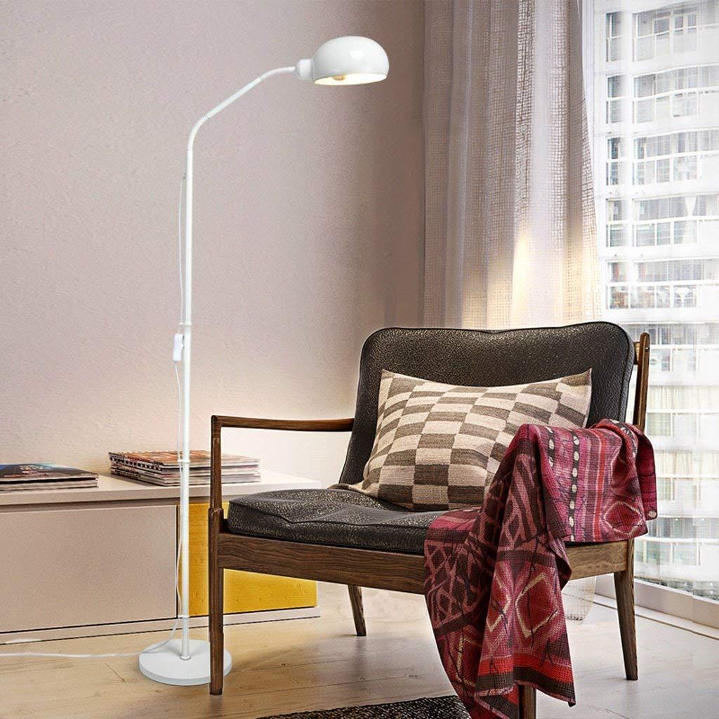 SED Floor Lamp-Led Nordic Floor Lamp Bedroom Lamp Simple Modern Floor Lamp Creative Floor Lamp Living Room Bedside Lamp American Floor Lamp Eye Protection Vertical Table Lamp