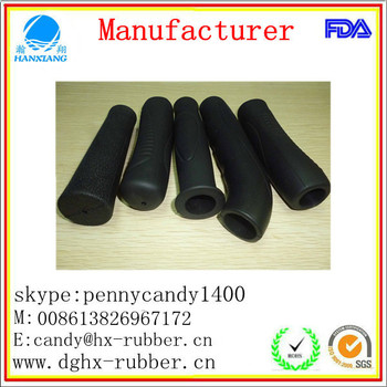 Dongguan factory customed rubber silicon handle grip